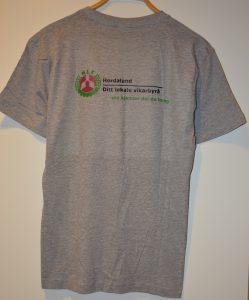 bakside t-skjorte